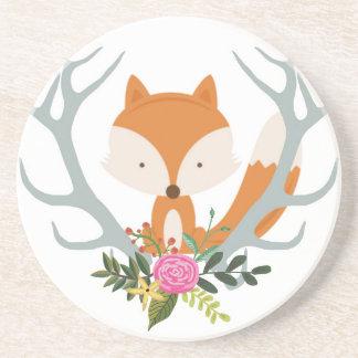 Cute Fox Coaster