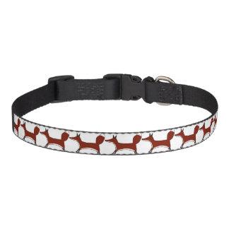 Cute Fox - dog collar - any size