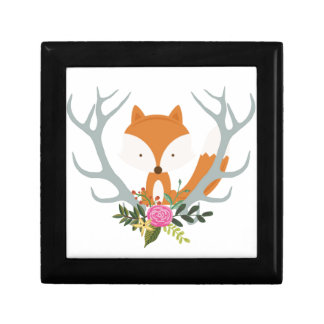 Cute Fox Gift Box