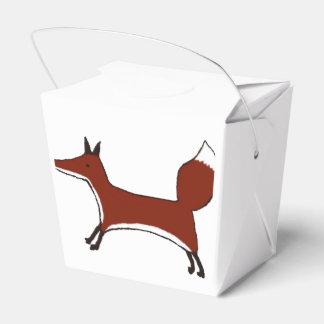 Cute Fox - Kawaii Kitsune - takeaway favour box