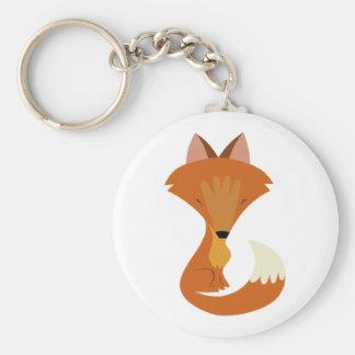Cute Fox Keychain