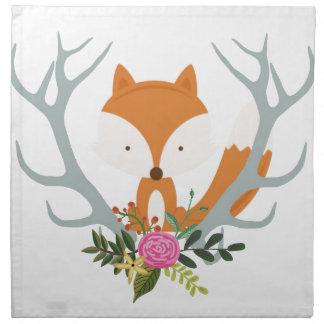 Cute Fox Napkin