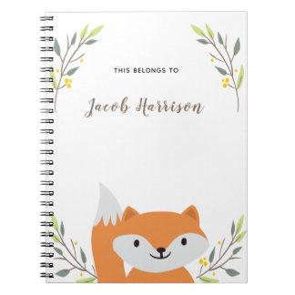 Cute Fox Notebook