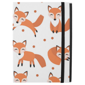 "Cute fox pattern iPad pro 12.9"" case"