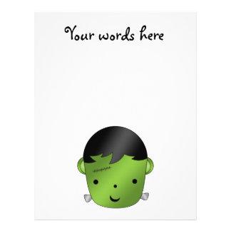 Cute Frankenstein monster 21.5 Cm X 28 Cm Flyer