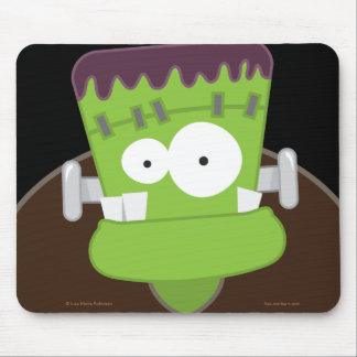 Cute Frankenstein Monster Halloween Mousepad