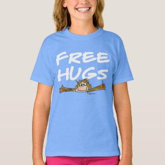 Cute Free Hugs Monkey T Shirt