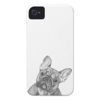 Cute French Bulldog iPhone 4/4s phone case