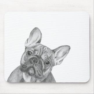 Cute French Bulldog mousemat