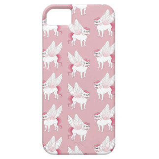 Cute French Bulldog Pegasus in the mythical world iPhone 5 Cases