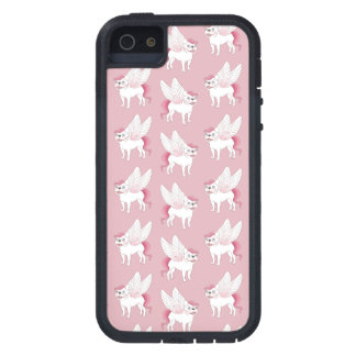 Cute French Bulldog Pegasus in the mythical world iPhone 5 Cover