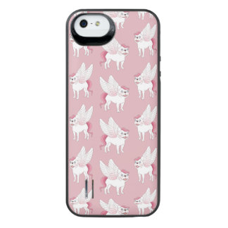 Cute French Bulldog Pegasus in the mythical world iPhone SE/5/5s Battery Case