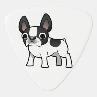 Cute French Bulldog Plectrum