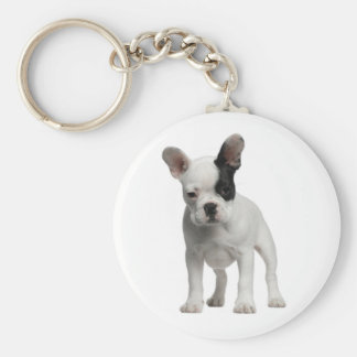 Cute French Bulldog Puppy Dog Keychain