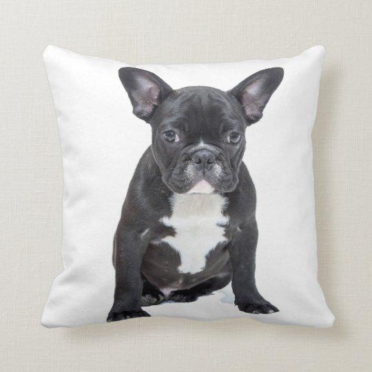 Cute French Bulldog Puppy Pillow
