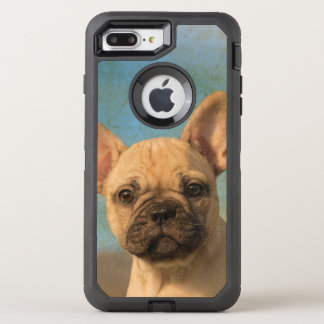Cute French Bulldog Puppy Vintage Dog Photo Protec OtterBox Defender iPhone 7 Plus Case