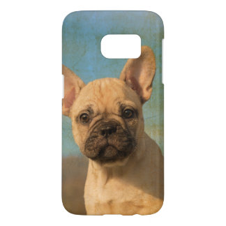 Cute French Bulldog Puppy Vintage Photo Phonecase