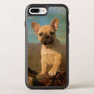 Cute French Bulldog Puppy Vintage Photo Protection OtterBox Symmetry iPhone 8 Plus/7 Plus Case