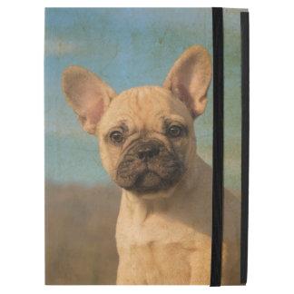 "Cute French Bulldog Puppy Vintage Portrait protect iPad Pro 12.9"" Case"