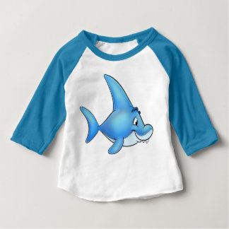 Cute FriendFish cartoon baby shirt