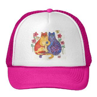 Cute Friendship Kitties Hat