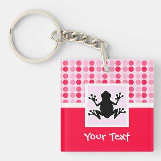 Cute Frog Acrylic Key Chain