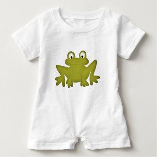 Cute Frog Baby Romper Baby Bodysuit
