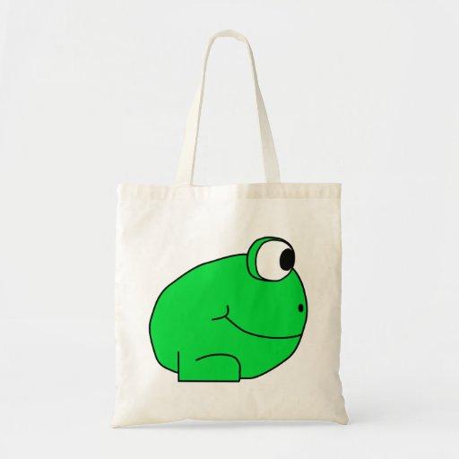 Cute Frog. Tote Bag