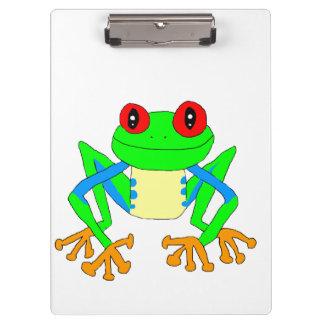 Cute frog clipboard