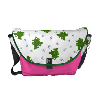 Cute Frog Messenger Bag