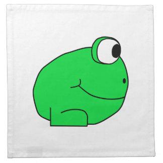 Cute Frog. Napkin