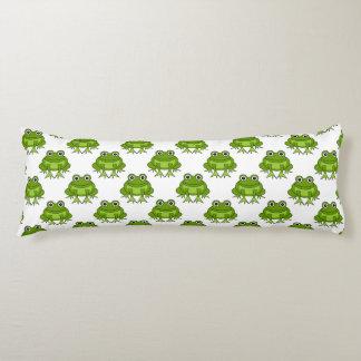 Cute Frog Pattern Body Cushion