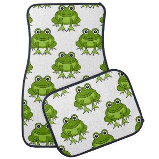 Cute Frog Pattern Car Mat