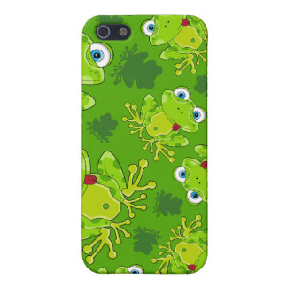 Cute Frog Patterned iphone Case
