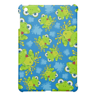Cute Frog Patterned iphone Case iPad Mini Cover