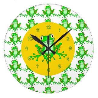 Cute Frog Wall Clocks