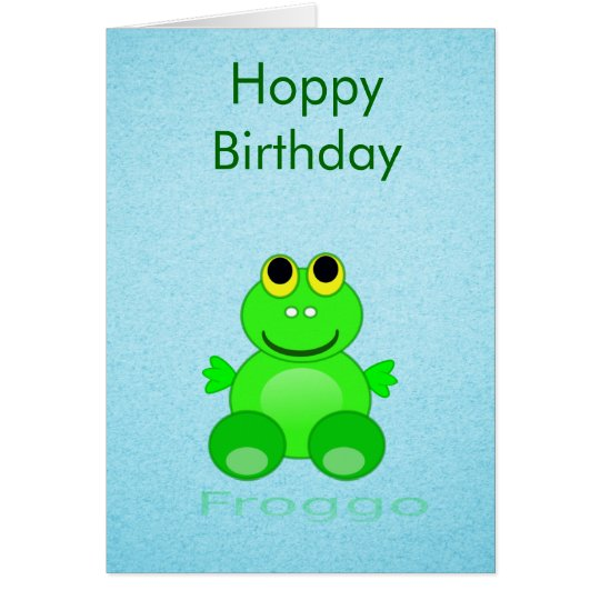 Cute Froggo Frog Card