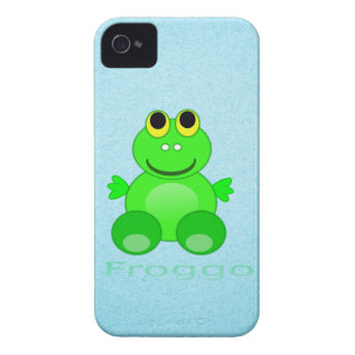Cute Froggo Frog iPhone 4 Case-Mate Case