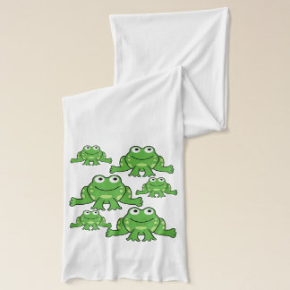 Cute Frogs Scarf