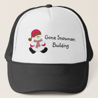 Cute Frosty Trucker Hat