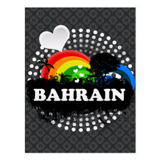 Cute Fruity Bahrain Postcard