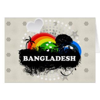Cute Fruity Bangladesh Cards