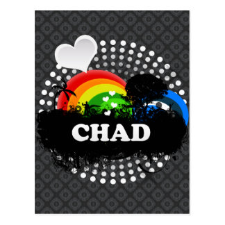Cute Fruity Chad Postcard
