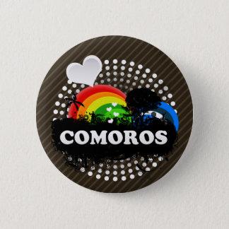 Cute Fruity Comoros 6 Cm Round Badge