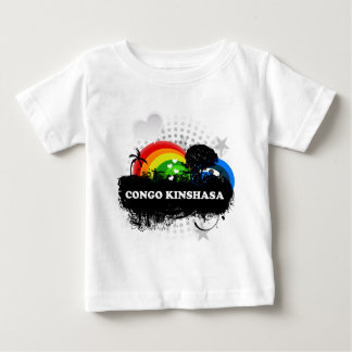 Cute Fruity Congo Kinshasa Tee Shirt