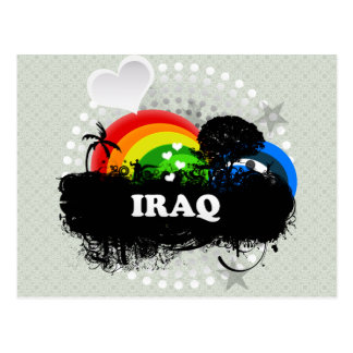 Cute Fruity Iraq Postcard