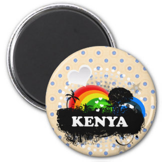 Cute Fruity Kenya Magnet