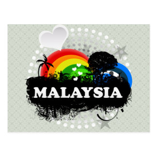 Cute Fruity Malaysia Post Card