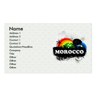 Cute Fruity Morocco Pack Of Standard Business Cards