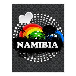 Cute Fruity Namibia Postcard